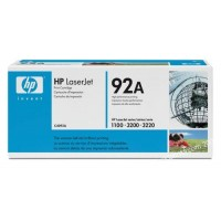 HP C4092A, Toner Cartridge Black, 1100, 3200- Original