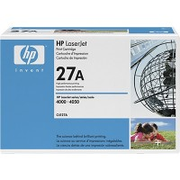 HP C4127A, Toner Cartridge Black, 4000, 4050- Original