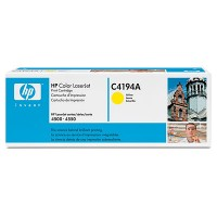 HP C4194A, Toner Cartridge- Yellow, Laserjet 4500, 4550- Original