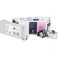 HP C4995A No.81 Light Magenta Printhead & Ink Cartridge Multipack Genuine