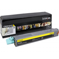 Lexmark C925H2YG, C925 Toner Cartridge - Yellow