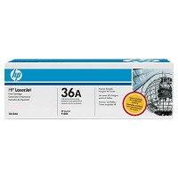 HP, CB436A, Toner Cartridge- Black, M1120, M1522, P1505- Original