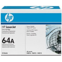 HP CC364A, Toner Cartridge- Black, 64A, P4014, P4015- Original