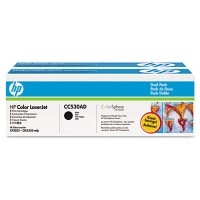 HP CC530AD, Toner Cartridge- Black Multipack, CM2320, CP2020, CP2025- Original