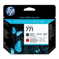 HP CE017A, Printhead Matt Black and Chromatic Red, Z6200, Z6800- Original