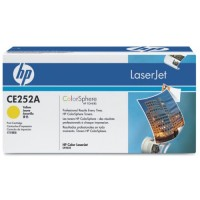 HP CE252A, Toner Cartridge Yellow, CP3525, CM3530, CP3520- Original