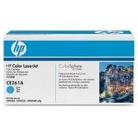 HP CE261A, Toner Cartridge Cyan, CP4025, CP4525- Original