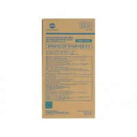 Konica Minolta 8937-860, Developer Cyan, 8050, CF5001- Genuine
