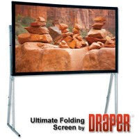 Draper Group Ltd DR241077 Draper UFS Rear Complete Projector Screen