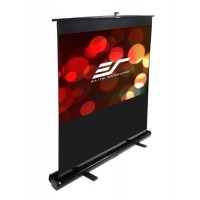 Elite F100NWH-BLACK Floor Up EZ Cinema Projection Screen