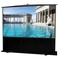 Elite F120NWV-BLACK Floor Up EZ Cinema Projection Screen
