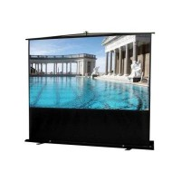 Elite F120NWH-BLACK  Floor Up EZ Cinema Projection Screen
