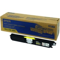 Epson C13S050554, Toner Cartridge HC Yellow, C1600, CX16- Original
