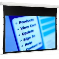 Euroscreen MDTI1617-V Tensioned Diplomat Projection Screen