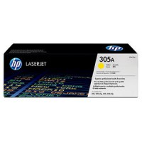 HP 305A HP M351, M375, M451, M475 Toner Cartridge - Yellow Genuine (CE412A)