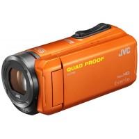 JVC GZ-R315DEU, HD Camcorder- Orange with Accessory Pack (16GB SDHC + bag)