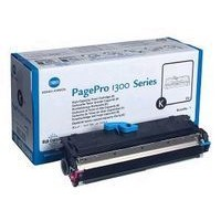 Konica Minolta 1710567-002 Toner Cartridge, PagePro 1300, 1350, 1380, 1390 - HC Black Genuine
