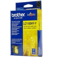 Brother LC1100HY-Y, Ink Cartridge HC Yellow, DCP-6690, MFC-5890, 5895, 6490- Original