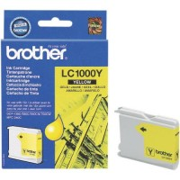 Brother LC1000Y, Ink Cartridge Yellow, MFC-660, 685, 845, 885- Original