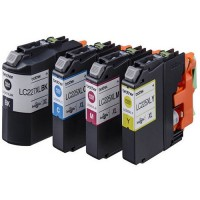 Brother LC225XL, LC227XL, HC Ink Cartridge Multipack, DCP-J4120, MFC-J4420, J4620, J4625- Original