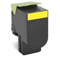 Lexmark 70C2HY0, 702HY Return Program Toner Cartridge, CS310, CS410, CS510 - HC Yellow Genuine