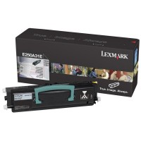 Lexmark E250A31E, Toner Cartridge Black, E250, E350, E352- Original