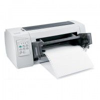 Lexmark FP 2580N Networked 9 Pin Dot Matrix Printer
