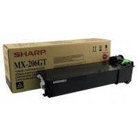 Sharp MX-M160D, MX-M200D Toner Cartridges - Black Genuine, MX206GT