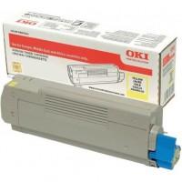 Oki 46507613, Toner Cartridge Yellow, C712- Original