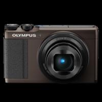 Olympus XZ-10 Compact Digital Camera in Brown