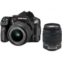 Pentax Imaging K-30 Black Digital SLR Camera - 18-55mm & 50-200mm Lens