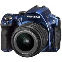 Pentax Imaging K-30, Blue Digital SLR Camera + 18-55mm Lens