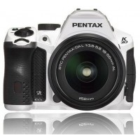 Pentax Imaging K-30 White Digital SLR Camera + 18-55mm WR Lens