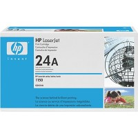 HP 24A 1500 Toner Cartridge - Black Genuine (Q2624A)