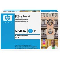 HP Q6461A, Toner Cartridge Cyan, 4730, CM4730, CM4753- Original