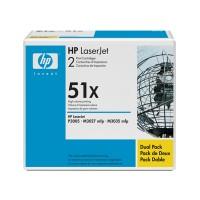 HP Q7551XD, Toner Cartridge HC Black Twinpack, M3027, M3035, P3005- Original