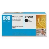 HP Q7560A, Toner Cartridge- Black, 2700, 3000- Genuine