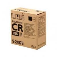 Risograph S-2487, Ink Black 800 ml. 2-Pack, CR1610- Original