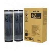 Riso S7612, Ink Cartridge Black Twin Pack, EZ200, EZ220, EZ370, EZ571- Original