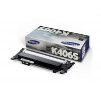 Samsung CLT-C406S, Toner Cartridge Cyan, CLP-360, CLP-365, CLX3300, CLX3305- Original