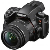 Sony SLT-A37K Digital SLR Camera - 18-55mm Lens