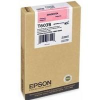 Epson C13T603B00, Toner Cartridge Magenta, Stylus Pro 7800, 9800- Original