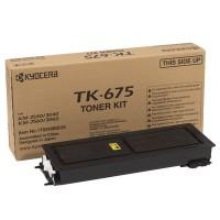 Kyocera Mita TK-675, Toner Cartridge Black, KM2540, 2560, 3040, 3060- Original