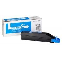 Kyocera TK865C, Toner Cartridge- Cyan, 250ci, 300ci- Genuine