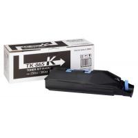 Kyocera TK865K, Toner Cartridge - Black, 250ci, 300ci- Genuine