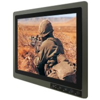 "Winmate R19L100-MLM1/ATR-ITO, 19"" Military Grade Display"
