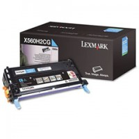 Lexmark X560H2CG, Toner Cartridge- HC Cyan, X560- Genuine