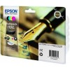 Epson C13T16364010, 16XL Ink Cartridge Value Pack, WorkForce WF 2010, 2510, 2520, 2530, 2540 - HC 4 Colour Genuine