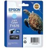 Epson T1575, Ink Cartridge Light Cyan, Stylus Photo R3000- Original