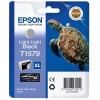 Epson T1579, Ink Cartridge Light Light Black, Stylus Photo R3000- Original